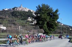 La Tirreno-Adriatico in Umbria