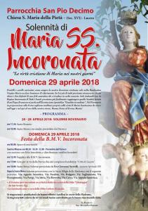 Festa lucerina in onore di Maria SS. Incoronata