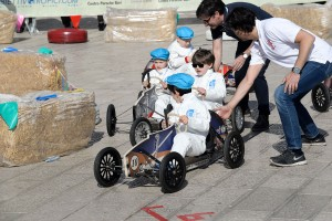 Mini piloti per Old Cars Club e Unicef