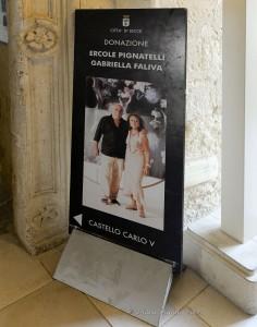 Donazione Ercole Pignatelli Gabriella Faliva