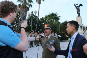 Cittadinanza onoraria al generale Salvatore Farina
