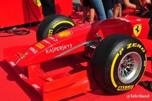 Formula 1, la Ferrari fa il pit stop a Prato