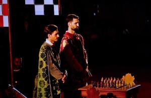 La Partita a scacchi con personaggi viventi