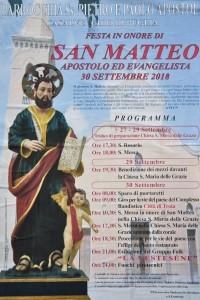 Fine settembre con la festa di San Matteo apostolo ed evangelista