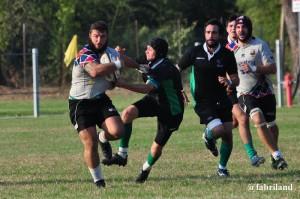 Rugby serie A, vittoria per i Cavalieri