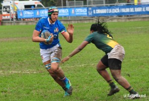 Rugby Internazionale, test match Italia women's contro Sudafrica