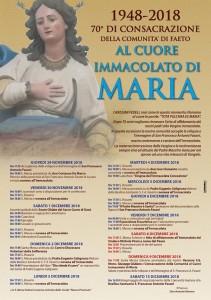 A 70 anni dalla Consacrazione di Faeto al Cuore Immacolato di Maria