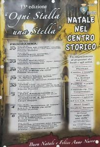 Presepi artistici nel centro storico viestano, 13ª edizione