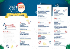 """Inizio della manifestazione <i>""""Babbo Natale a Lucera""""</i>"""