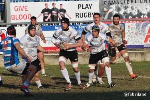 Rugby serie A, i Cavalieri travolgono il Rugby Benevento