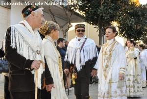 Sfilata storica dei costumi tradizionali del carnevale sannicandrese