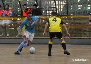 Calcio a 5 serie A2,  biancoazzurri superati dalla Virtus Aniene