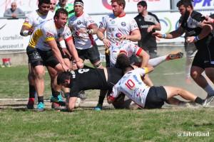Rugby serie A, ancora una vittoria per i Cavalieri