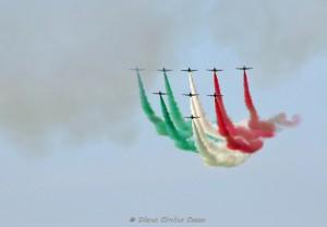 Frecce Tricolori per San Nicola 2019