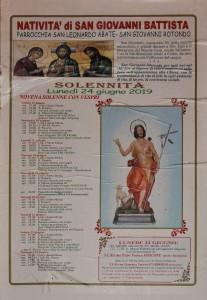 Festa patronale di San Giovanni Battista 2019