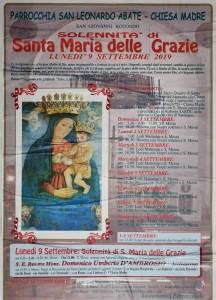 Festa di Santa Maria delle Grazie 2019