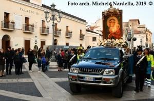 Arrivo e permanenza dell'icona pellegrina della Madonna nera di Częstochowa