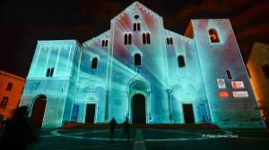 Videomapping natalizio a Bari