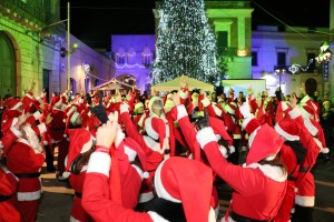 Un Natale solidale, la band di Babbo Natale