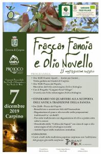 Vigilia dell'Immacolata con la 21ª edizione di <i>Frasca, Fanoia e Olio Novello</i>
