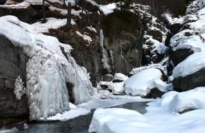 Cascate ghiacciate di Lillaz