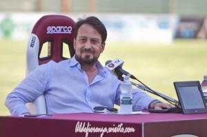 La conferenza stampa del Presidente della Reggina Gallo