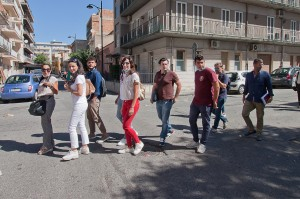 La candidata a Sindaco  Angela Marcianò tra la gente di Reggio Cal.