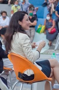 La candidata a Sindaco di Reggio Calabria Angela Marcianò a confronto con gli altri candidati