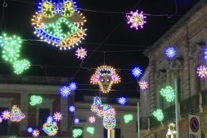 Luminarie di Pasqua in Piazza